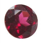 Natural Rhodolite Garnet 3mm Round - Pak of 5