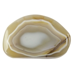 Mad River Agate Gemstone - Freeform Cabochon 30mm x 46mm Pkg - 1