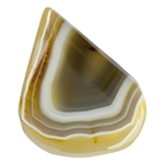 Mad River Agate Gemstone - Freeform Cabochon 41.5mm x 52.5mm Pkg - 1