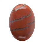 Natural Red Jasper Gemstone - Cabochon Oval