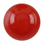 Natural Carnelian Gemstone - Cabochon Round 6mm