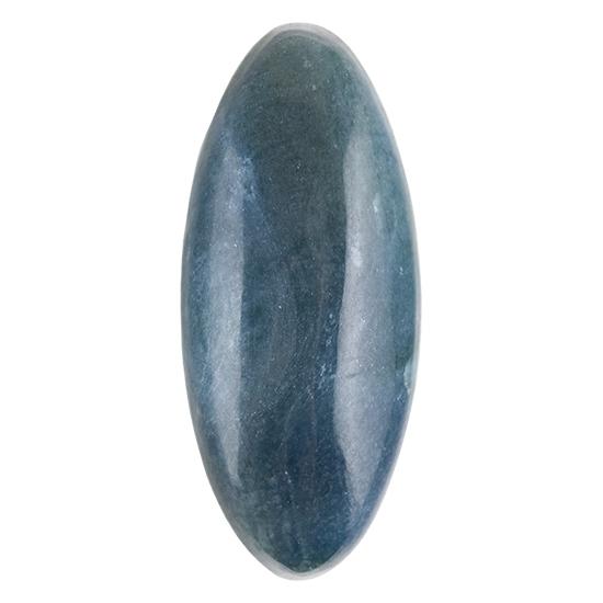 Dianite Cabochon blue nephrite jade