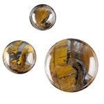 Natural Tiger Iron Gemstone - Cabochon Round