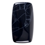 Spiderweb Obsidian Gemstone - Rectangle Cabochon 22mm x 40mm  Pkg - 1