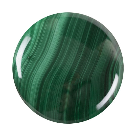 malachite gemstone cabochon round gem 551 p cool tools