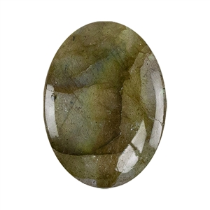 Natural Labradorite Gemstone - Cabochon Oval