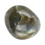 Natural Labradorite Gemstone - Freeform Cabochon 15mm x 18mm Pkg - 1