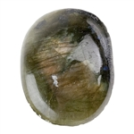 Natural Labradorite Gemstone - Freeform Cabochon 18mm x 23mm Pkg - 1