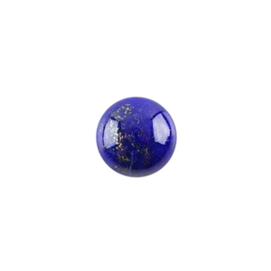 Natural Lapis Lazuli Gemstone - Cabochon Round 12mm