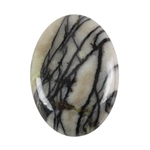 Natural Zebra Jasper Gemstone - Cabochon Oval 18x25mm - Pak of 1