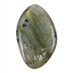 Natural Labradorite Gemstone - Cabochon Freeform 25mm x 40mm