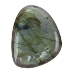 Natural Labradorite Gemstone - Cabochon Freeform 30mm x 38mm