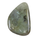 Natural Labradorite Gemstone - Cabochon Freeform 28mm x 40mm