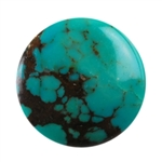 Stabilized Turquoise Gemstone - Cabochon Round 14mm - Pak of 1