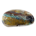Stabilized Turquoise Gemstone - Cabochon Freeform 15.5mm x 28mm - Pkg of 1