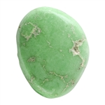 Stabilized Turquoise Gemstone - Cabochon Freeform 21mm x 26.5mm - Pkg of 1