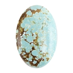 Turquoise Gemstone - Cabochon Oval 18mm x 27mm - Pkg/1