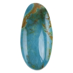Pilot Mountain Turquoise Gemstone - Cabochon Freeform 16.5mm x 34.5mm - Pkg/1