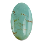 Pilot Mountain Turquoise Gemstone - Cabochon Oval 17mm x 30mm - Pkg/1