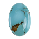 Pilot Mountain Turquoise Gemstone - Cabochon Oval 21mm x 32mm - Pkg/1