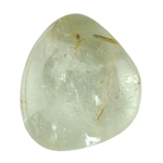Golden Rutilated Quartz Gemstone - Freeform Cabochon 18mm x 18mm Pkg - 1