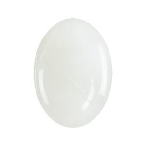 White Moonstone Gemstone - Cabochon Oval