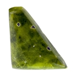 Atlantasite Gemstone - Freeform Cabochon - 22mm x 32.5mm - Pkg of 1
