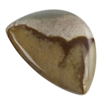 Polychrome Jasper Gemstone -  Freeform Cabochon 29mm x 43mm