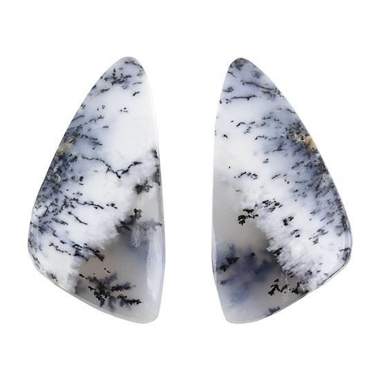 Top Quality Cabochon 37x24x6 ct 46 #M994 Natural Dendritic Opal Loose Gemstone Semi Precious Dendritic Gemstone
