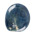 Apatite Gemstone - Discounted Due to Defect Freeform Cabochon 30mm x 35mm