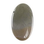 Polychrome Jasper Gemstone - Defective Stone - Oval Pendant 18mm x 30mm
