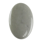Polychrome Jasper Gemstone - Defective Stone - Oval Pendant 18mm x 26mm
