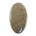Polychrome Jasper Gemstone - Defective Stone - Oval Pendant 18mm x 31mm