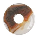 Glass Stone -  Defective Stone - Round Stone 40mm Pkg - 1 Pkg - 1