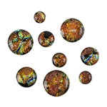Dichroic Gems - Black Copper