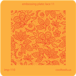 Jewelry Embossing Plate - Lace 11