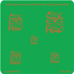 Jewelry Embossing Plate - Best Friends are Ones with Paws