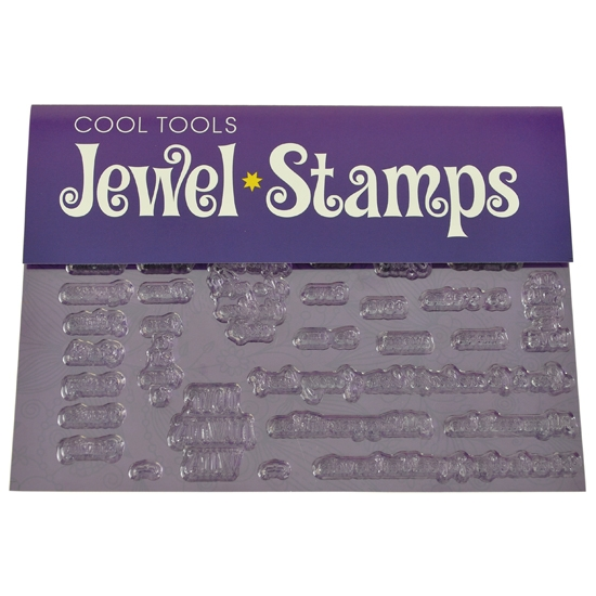 Jewel Stamps for Soft Clay Loving Words Cool Tools