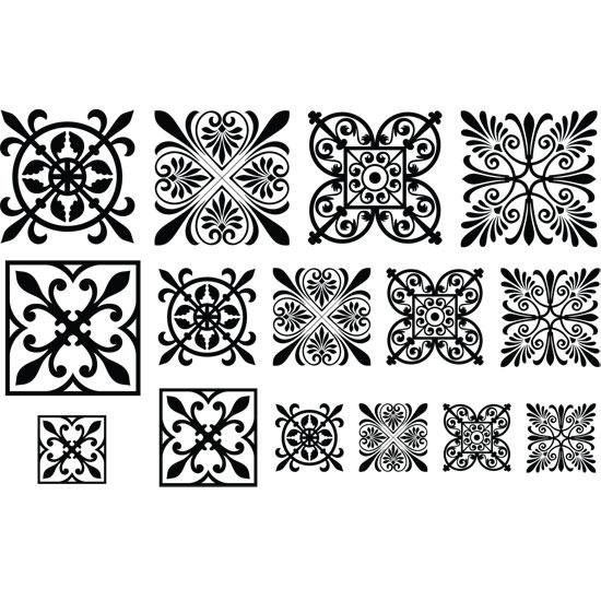 jewel stamps filigree squares 2 cool tools