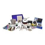 Deluxe Metal Clay Starter Tool Kit with UltraLite Studio Kiln