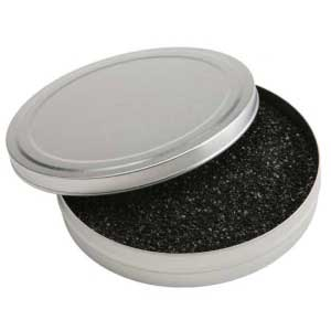 Accent Silver Firing Tin with Coconut Carbon Media 4 oz
