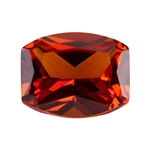 Lab Gemstone - Corundum Citrine - Barrell