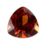 Lab Gemstone - Corundum Citrine - Trillion