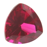Lab Gemstone - Ruby - Trillion