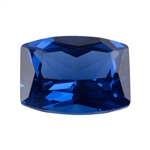 Lab Gemstone - Blue Spinel - Barrell