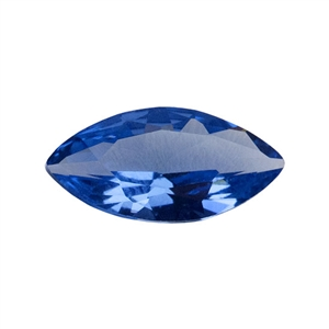 Lab Gemstone - Blue Spinel - Marquise