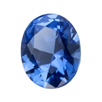 Lab Gemstone - Blue Spinel - Oval