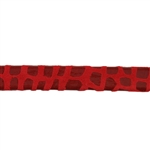 Leather Cancun 10mm - Red - 6""