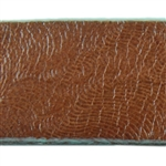 Crushed Velvet Textured Leather - 6""