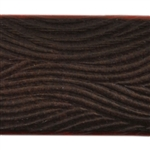 Waves Textured Leather - 6""